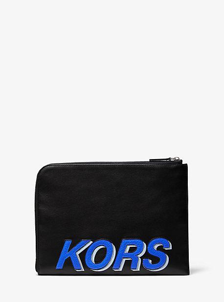 Кожаная дорожная сумка Kors Michael Kors
