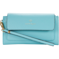 Grainy Flap Wallet w/ Wristlet Nanette Lepore