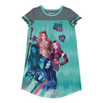 Disney's Descendants Girls 6-14 Good To Be Bad Nightgown Licensed Character
