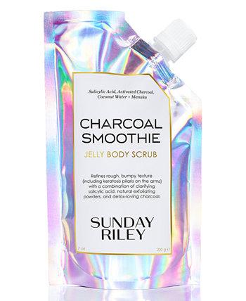 Charcoal Smoothie Jelly Body Scrub, 7 унций Sunday Riley