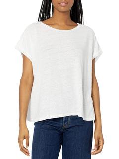 Hudson Linen Knit T-shirt Velvet by Graham & Spencer