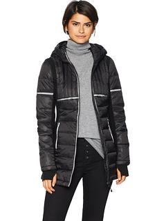 Легкая куртка-парка со светоотражающими вставками Blanc Noir