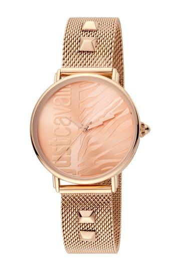 Женские аналоговые кварцевые часы с сетчатым браслетом, 32 мм Just Cavalli