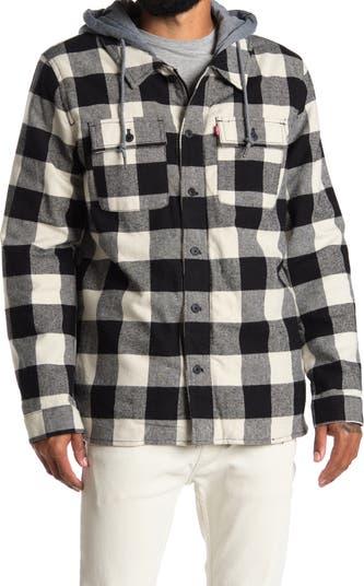 Клетчатая флисовая куртка с подкладкой из искусственного меха Levi's®