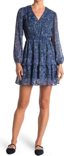 Платье со сборками на талии и принтом Collective Concepts
