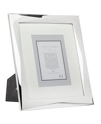 Серебряная рамка с геометрическим рисунком - 8 x 10 дюймов Philip Whitney