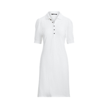 Свободное платье с воротником Ralph Lauren