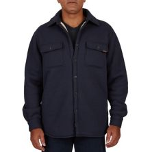 Men's Smith's Workwear Sherpa-Lined Heather Thermal Shirt Jacket Smith's Workwear