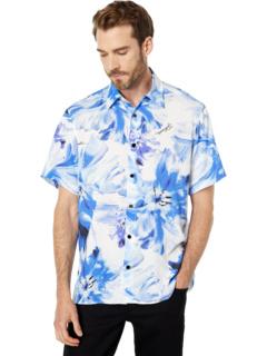 Tie-Dye Flower Print Shirt Just Cavalli