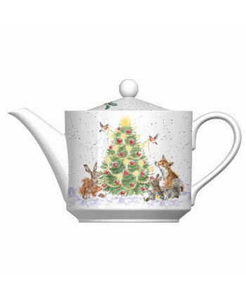 Чайник - О, елка Wrendale Designs