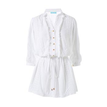 Платье-рубашка Scarlett с кружевной отделкой Melissa Odabash