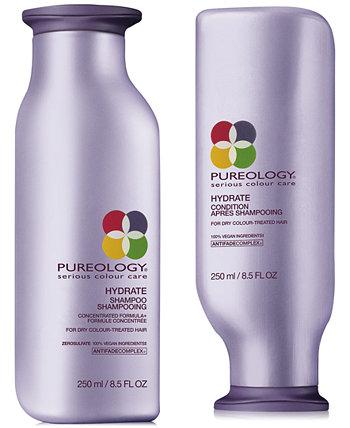 Увлажняющий шампунь и кондиционер (два предмета), 8,5 унций, от PUREBEAUTY Salon & Spa Pureology