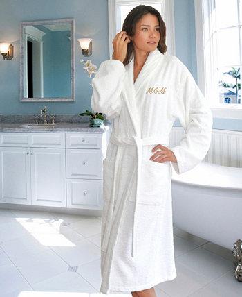 "Махровый халат с вышивкой ""Мама"" Linum Home"