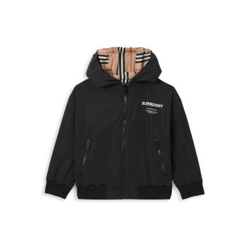 Little Boy's & amp; Двусторонняя куртка Tommy Icon для мальчиков Burberry