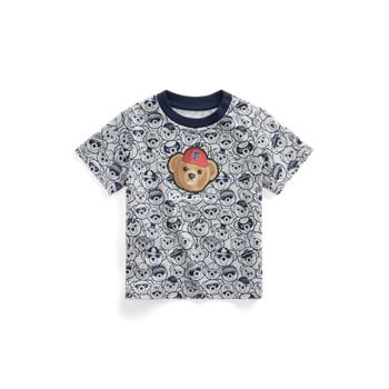 P-Wing Polo Bear Cotton Jersey Tee Ralph Lauren