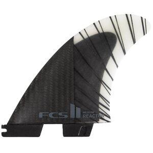 FCS Reactor PC Carbon Thruster Surfboard Fins FCS