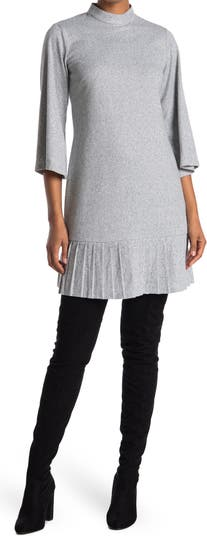 Трикотажное платье со складками и складками Sandra Darren