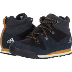 Terrex Climawarm Snowpitch Winter Shoes (Little Kid/Big Kid) Adidas Outdoor Kids