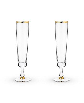 Набор свадебных флейт для шампанского, 2 шт. Twine