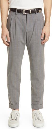 Slim Fit Pinstripe Cuff Pants Eleventy
