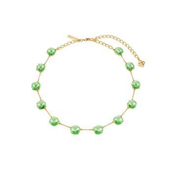 Goldtone & amp; Ожерелье Crystal Station Oscar de la Renta