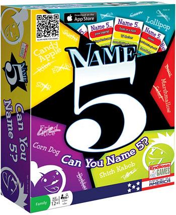 Имя 5 Endless Games