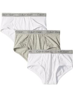 3 пары трусов из хлопка (для детей младшего и школьного возраста) Calvin Klein
