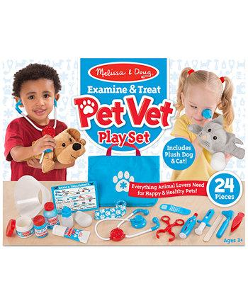 Набор для домашних животных Melissa & Doug Vet Play Set Melissa and Doug