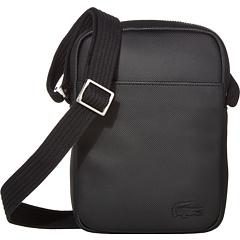 Классическая тонкая вертикальная сумка для фотокамеры Lacoste