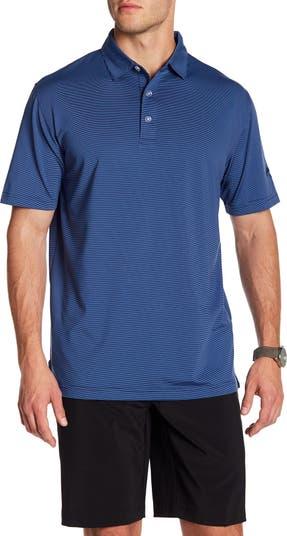 Рубашка-поло в тонкую полоску CALLAWAY GOLF