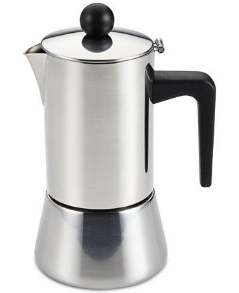 Эспрессо-чайник из нержавеющей стали на 4 чашки Bonjour