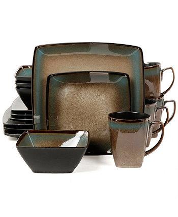 Набор столовой посуды Tequesta, 16 предм., Сервиз на 4 персоны Gibson