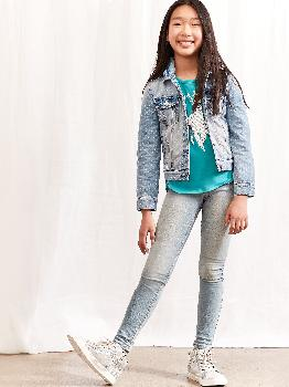 Детские джинсы Super Skinny Fit с Washwell ™ Gap Factory