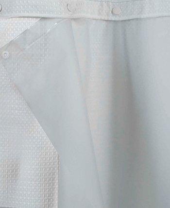 Подкладка для занавески для душа Peva Snap 70 x 54 дюйма Hookless