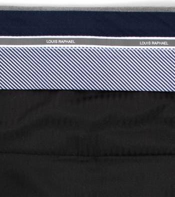 Однотонные классические брюки скинни с плоской передней частью Louis Raphael