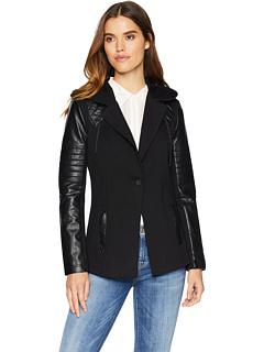 Пиджак с капюшоном Blanc Noir
