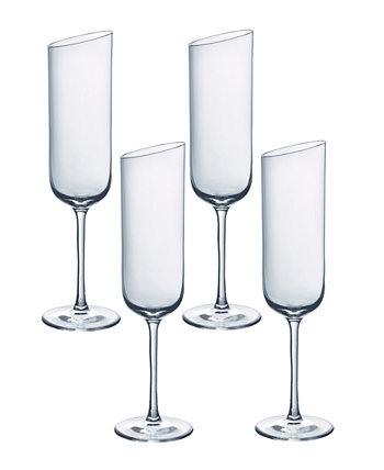 Шампанское New Moon Flute, набор из 4 шт. Villeroy & Boch