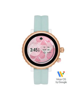 Смарт-часы Sport Mint с силиконовым сенсорным экраном, 42 мм Kate Spade New York