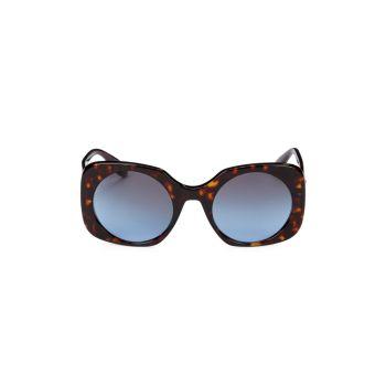 Квадратные солнцезащитные очки 52 мм Giorgio Armani