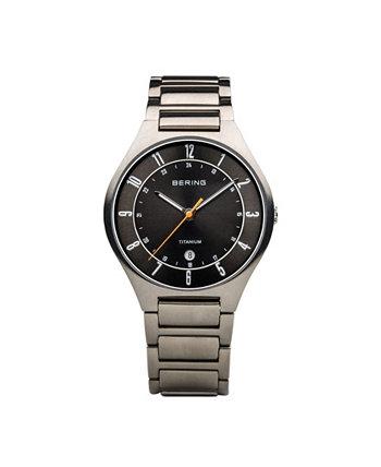 Мужской титановый корпус и часы Multi Link Bering