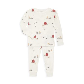 Пижамный комплект Baby Boy из двух предметов Barn Group Firsts by Petit Lem