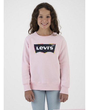 Little Girls Crewneck Sweatshirt Levi's®
