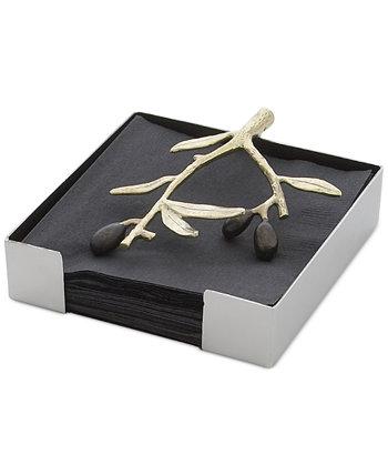 Золотая подставка для салфеток Olive Branch Gold MICHAEL ARAM