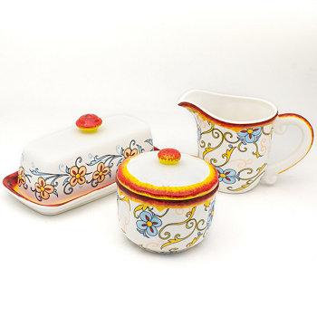 Набор принадлежностей для завтрака Duomo Euro Ceramica