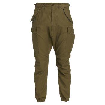 Военные брюки-карго R13