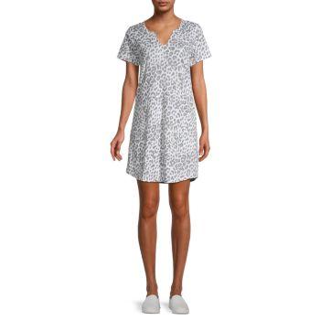 Floral T-Shirt Dress MARC NEW YORK PERFORMANCE