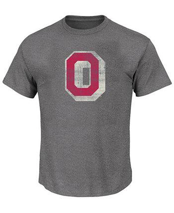 Мужская футболка с логотипом Big & Tall Ohio State Buckeyes Vault Profile