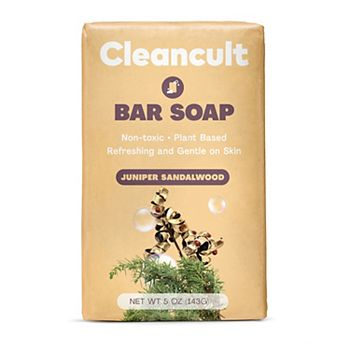 cleancult Bar Soap - Juniper Sandalwood Cleancult