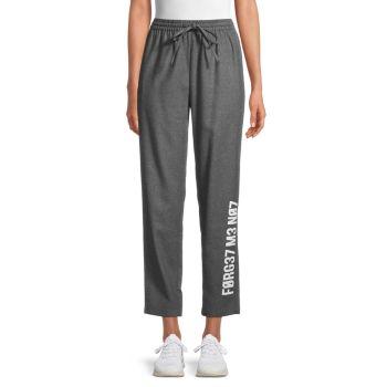 Укороченные спортивные брюки REDValentino