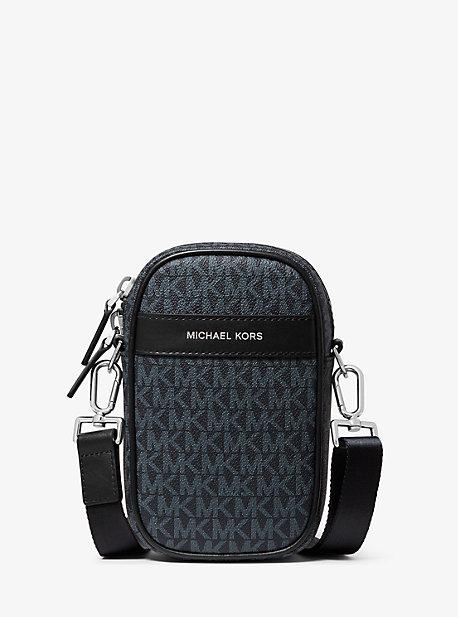 Сумка через плечо для смартфона с логотипом Greyson Michael Kors